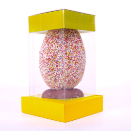Large Milk chocolate Pixel Egg