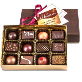Twelve chocolate collection