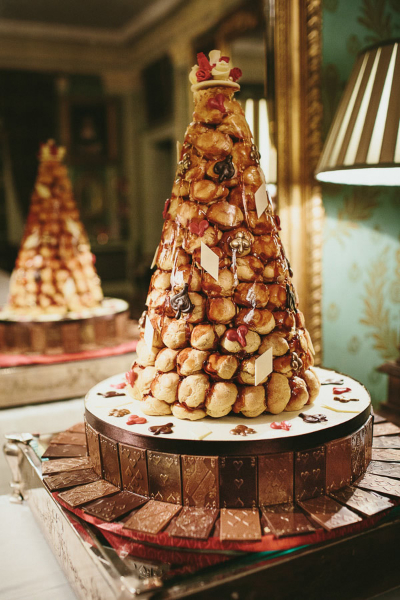 how to make a croquembouche cake