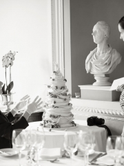 £895 4 tier Presenting the Strawberry Helta Skelta Wedding cake
