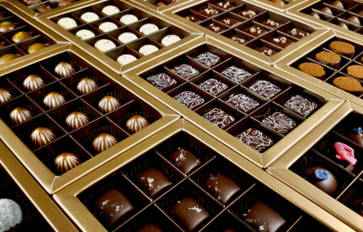 Plastic Free Chocolate Boxes
