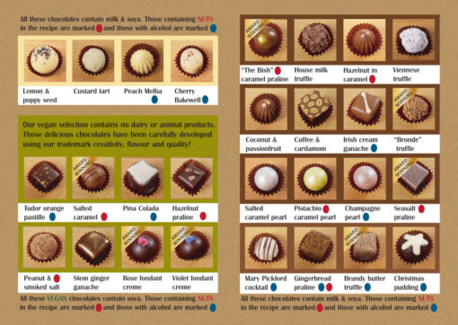 Chocolate Menu Inner