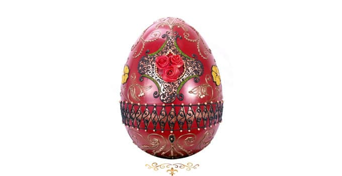 Chocolate faberge egg for harrods lick the spoon harrods chocolate faberge egg curlicues negle Image collections