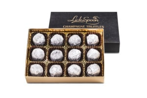 Box of twelve Champagne truffles