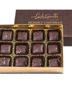 Sea Salt Caramels twelve chocolate box