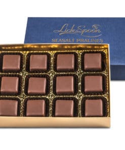 Box of twelve sea salt pralines
