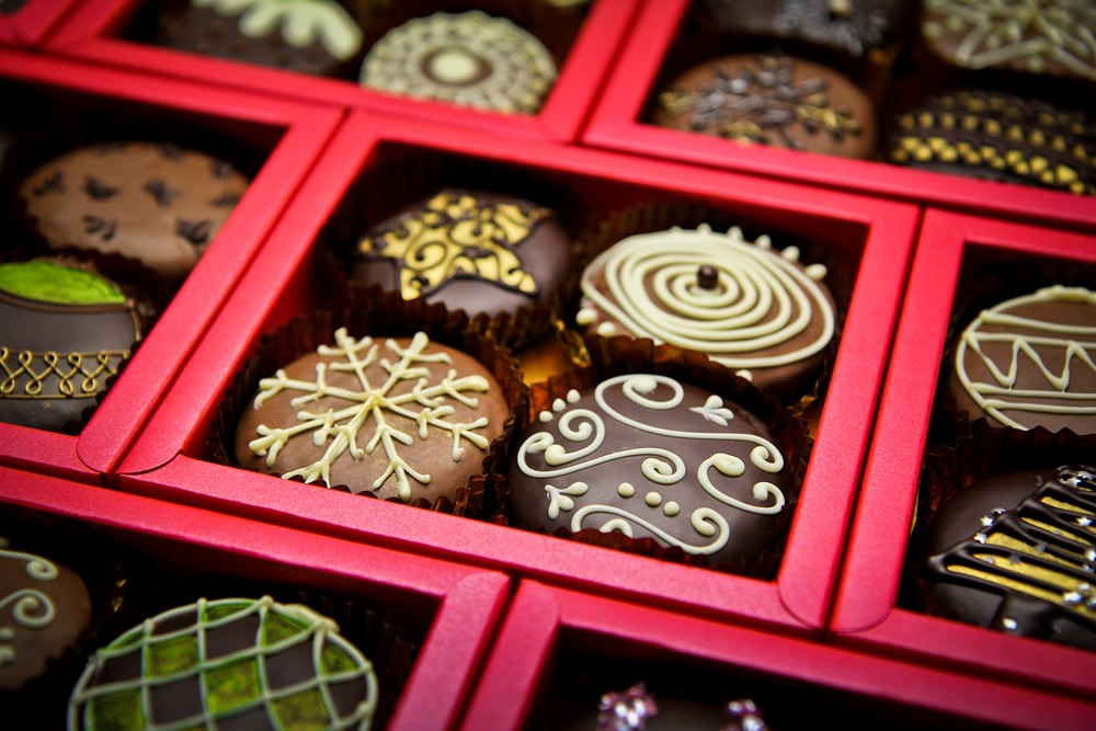 Christmas Chocolate.Christmas Chocolates Launch In Gloucester Lick The Spoon
