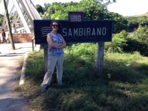 Crossing the Sambirano