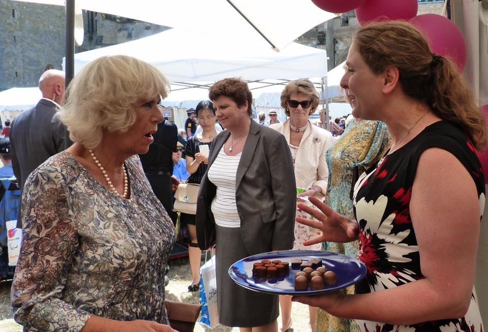 Duchess of Cornwall with Diana