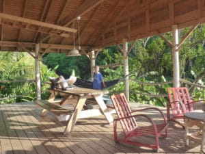 Guest accommodation at crayfish bay
