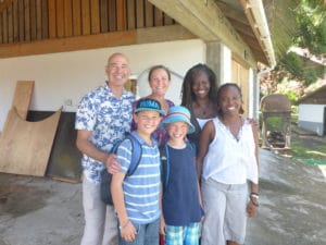 Matthew, Diana, Lylette, Leena and our boys
