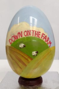 Down on the Farm handmade Easter Egg