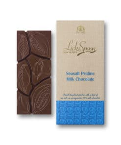Sea Salt Praline Chocolate Bar
