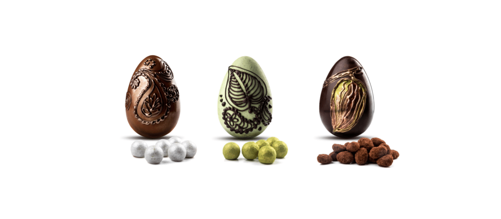 Three Luxury Easter Eggs 2018