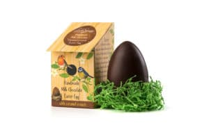 Nest Box Easter Egg Milk Chocolate and Salted Caramel
