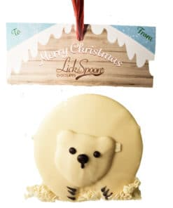 Chocolatey Polar Bear Tree decoration