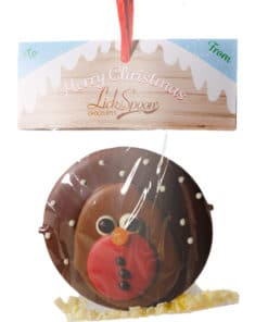 Chocolate Robin Tree Decoration