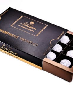 Champagne Truffles 12 Chocolate Box